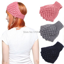 2014 New 100% handmade Solid Korea Women Knitted Headwrap Knitting wool headbands hair band for Girls Teens 10 pcs/lot