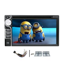 2015 hot sale 2 din 6.2'' Car DVD CD Video Player Digital Touch Screen Car Stereo FM AM RDS Radio Bluetooth+Touch pen+Sub-woofer