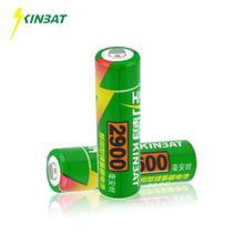 KINBAT 2pcs 2900mAh Ni-MH Rechargeable Battery AA 1.2V NIMH Rechargeable AA Battery For Toys Camera Microphone Remote Controls(China)