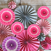 10pcs/lot 15cm Smallest Double Layer Lace Paper Folding Fan Decorative Tissue Cutting Craft Hanging Garlands for Banquet Wedding