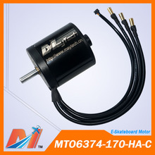 Maytech surfboard longboard 6374 170KV sealed electric motor BLDC motor Free Shipping(China)