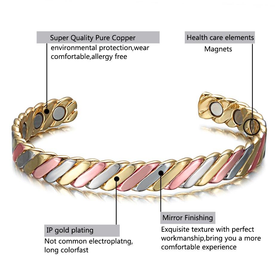 colorful copper bangle for women  (3)