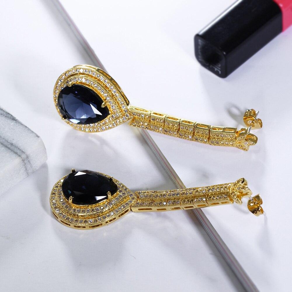 big water drop stone earrings (12)