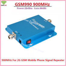 New gain 60dbi gsm repeater 900Mhz celular signal booster high quality gsm booster repeater , gsm mobile phone signal amplifier(China)