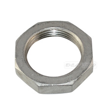 "High Quality 1-1/4"" Lock Nut O-Ring Groove Pipe Fittings Stainless Steel SS 304 New"