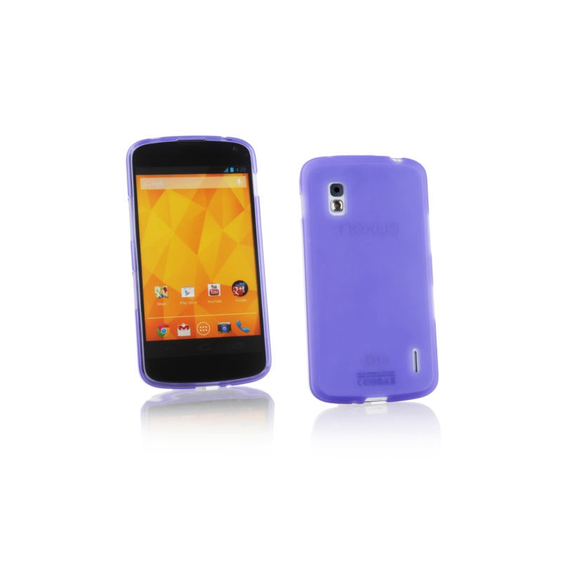 For LG Nexus 4 E960 Matte Soft TPU Gel Protective Case Silicone Cover On Nexus 4 E960(China)