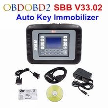 SBB V33.02 Key Maker Universal Key Programming OBDII 16PIN SBB V33 Transponder Immobilizer Supports Multi-Cars SBB Slica