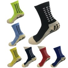 TOP Quality Anti-Slip Football Socks TockSox Mid Calf Football Socks Soccer Short Stockings TruSox Futbol Meias Calcetines