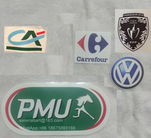Pu Material 2016 Coupe de France Patch And Sponsor Soccer Patch Badge(China)