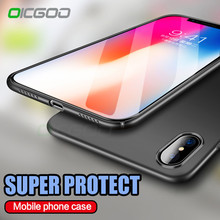 OICGOO Ultra Thin Back Hard PC Full Cover Cases For iPhone X 10 Case Luxury Anti-knock Case For iPhone 10 X Phone Cases Cape(China)