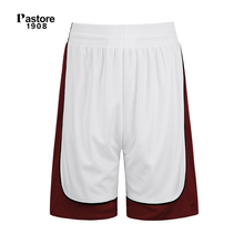 Pastore1908 brand mens Basketball Shorts quick dry breathable running sports short europe sizeS-4XL name custom jersey white306B(China)