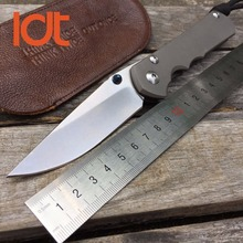 LDT Sebenza 25 Folding Knife CPM S35VN Blade TC4 Titanium Handle Knife Tactical Camping Survival Knives EDC Pocket Tools OEM
