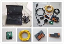 for bmw icom a2 b c diagnostic tool with laptop m495 used 4g hdd 500gb newest software expert mode ready to work(China)