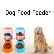 3.5L Automatic Pet Water Food Feeder For Cats Dogs Environmental Dog Food Bowl Pets Water Food Dispenser Pet Products #246447(China)