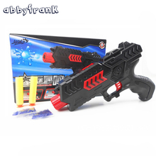 Soft Bullet Toy Shot Gun Paintball Pistol CS Game Mini Water Crystal Air Gun Toy Plastic Gift With Soft and Water Bullet