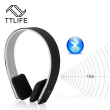Buy TTLIFE Brand AEC Wireless Bluetooth Headphone Stereo Music Bluetooth Headphones Headset Built-in Microphone Calls Handsfree for $17.53 in AliExpress store