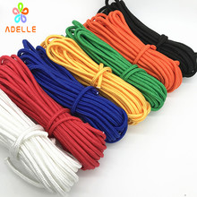 8mmx13yard braided nylon rope Polypropylene rope PP climbing boat yacht sailing line pulley clothes line free shipping 6 colors(China)