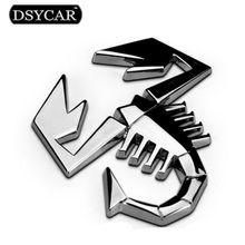 3D Metal Moto Car sticker Logo Badge Emblem Decal Car styling For Fiat Bmw Ford Lada skoda opel Audi toyota honda mazda VW volvo(China)