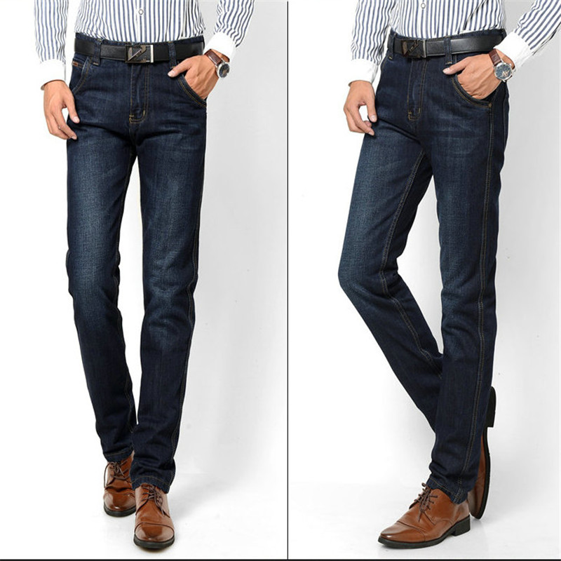 2017 men fashion straight men Jeans classic denim brand jeans fall spring jeans cotton Slim  trousers Jeans#TTTJ8018Одежда и ак�е��уары<br><br><br>Aliexpress