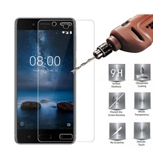 HOPELF Tempered Glass for Nokia 8 Screen Protector 9H 2.5D Phone Protection Film for Nokia 8 Tempered Glass(China)