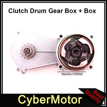 Minimoto 14 Tooth T8F Clutch Drum Gear Box Pad For 2 Stroke 47cc 49cc Engine Parts Kids Mini Moto ATV Quad 4 Wheeler Dirt Bike