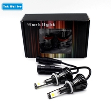 Tak Wai Lee 2X Normal Change Stobe Flashing LED Car Fog Light Bulb Styling 30W IP68 H1 H3 H7 H8 9005 9006 Front Fog Lamps Source