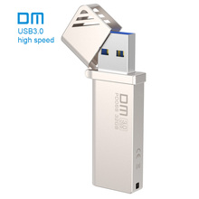 Free shipping DM PD068 NEW 16GB 32GB 64GB 128GB 256GB USB Flash Drives Metal USB 3.0 High-speed write from 10mb/s-60mb/s(China)