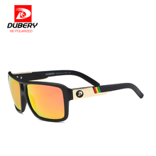 Buy DUBERY Eyewear 2017 Mirror Polarized Sunglasses Men New Big Women Sun glasses UV400 lens 10 Colors Brand Designer case D008 for $8.69 in AliExpress store