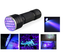Uv Led Flashlight 51 Leds 395nm Ultra Violet Torch Light Black light Detector for Dog Urine Pet Stains Bed Bug adhesive curing(China)
