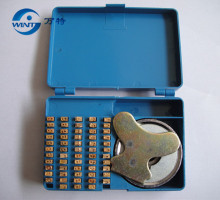 3*5*9MM,105PCS/box, Date code , Number font,hot stamp coder,characters for  900 sealing  machine copper convex character