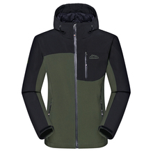 Men's Winter Thick Softshell Jackets Male Outdoor Sports Coats Windproof  Warm Camping Trekking Hiking Ski Brand Clothing VA014