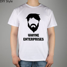 Batman Wayne Enterprises Logo t-shirt Top Lycra Cotton Men T Shirt New