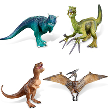Action & Toy Figures Jurassic Carnivorous Dragon Dinosaur Toys Plastic 8cm Dolls Animal Collectible Model Furnishing Toy Gift F3(China)