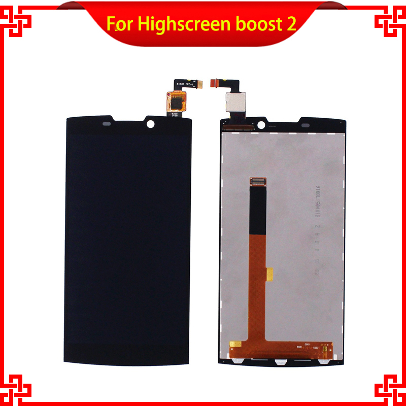 5pc/lot LCD Display Touch Screen For Highscreen boost 2 9108  se 9169 9267 Black Mobile Phone LCDs Free Shipping<br><br>Aliexpress