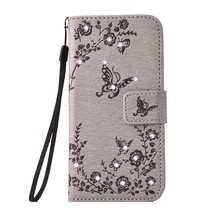 6S Case for iPhone 7 Plus Rhinestone Case for iPhone 6 S Plus Fashion Wallet Case for iPhone SE 5 S flip Cover Bling Diamond Bag