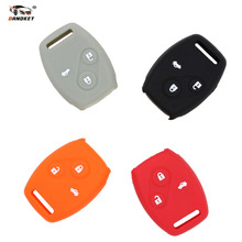 DANDKEY Silicone Cover Case for HONDA Remote Key Case 003 2008 2009 Accord Honda Cr-V Civic(China)