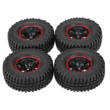 4Pcs for AUSTAR AX-3020C 1.9 Inch 103mm 1/10 Scale Tires with Wheel Rim for 1/10 D90 SCX10 CC01 RC Rock Crawler(China)
