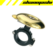 SCUDGOOD mini bicycle bell kids ring brass retro non-mainstream mountain road bike alarm hand bell resounding accessories(China)