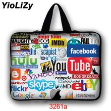 Tablet Laptop Sleeve Тетрадь Чехол 7 10,1 12 13,3 14 15,4 15,6 17,3 дюймов Ultrabook сумка для Asus hp acer lenovo LB-3261a(China)
