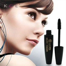 3D Fiber Lashes New Black Eye Mascara Long Eyelash Silicone Brush Curving Lengthening Mascara Waterproof Fashion Makeup