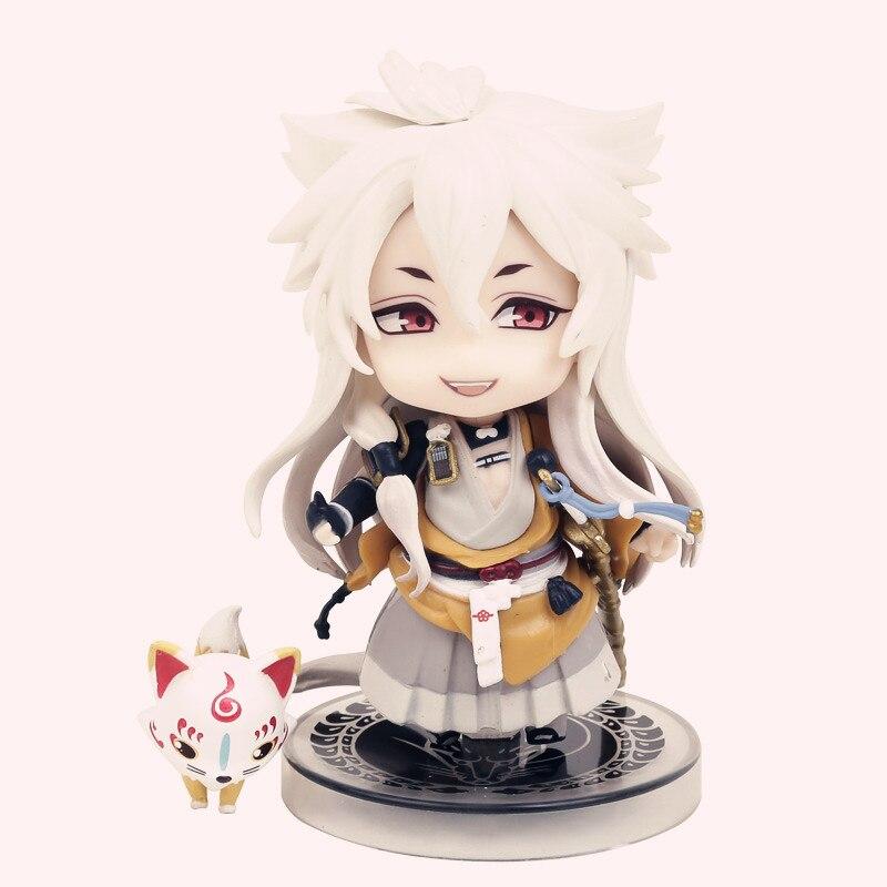 Cute Nendoroid Touken Ranbu Online kogitsunemaru #525 PVC Acton Figure Model Collection Toy 4 10cm WU413<br><br>Aliexpress