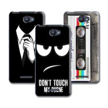 New Arrived Dark For Men's Style Perfect Design Phone Case For BQ Aquaris U Case Cover For BQ U Lite 5'' INCH Back Coque Funda