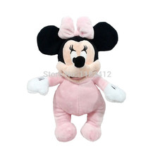 Minnie Plush Toy Cute Baby Minnie Pink Stuffed Animals 30cm 12'' Kids Toys for Children Gifts