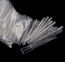100 Pcs/lot 0.2ml Disposable Plastic Eye Dropper Set Transfer Graduated Pipettes Polyethylene for Experiment Medical