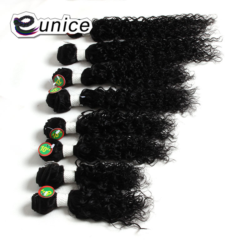 Afro Kinky Curly Hair Weave Bundles 100% Nature Color Human curly Hair  (41)