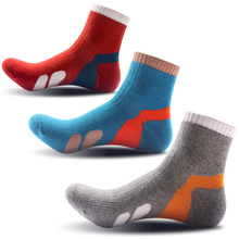 3 Pair/lot Men's Socks Casual Male Cotton Argyle Socks Men Warm Men's Colorful Thick Socks for Autumn Winter S003(China)