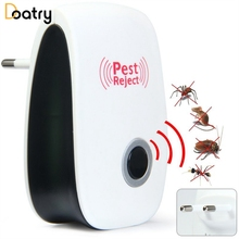 Mosquito Killer Electronic Multi-purpose Ultrasonic Pest Repeller Reject Rat Mouse Cockoach Pest Anti Rodent Bug Mosquito(China)