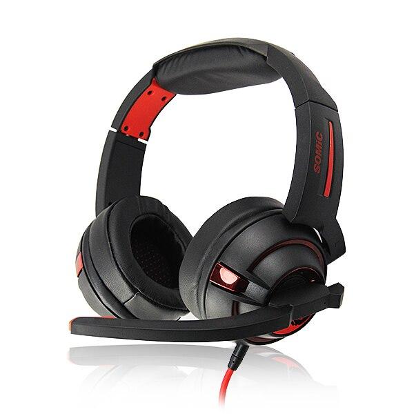 Microphone Earphone Headphone 7.1 Surround Sound Gaming Headset Earphone with Microphone Mic<br><br>Aliexpress