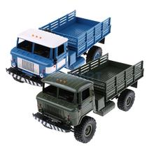 Buy WPL B-24 1/16 Scale 2.4G 4WD RC Military Truck Off-road Car Rock Crawler RTR Toy 2.4G for $65.37 in AliExpress store