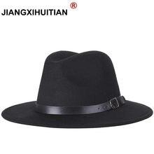 2017 el envío libre 2017 nuevos hombres de la manera sombreros de ala de  las mujeres sombrero del jazz de moda de verano primave. 68542e6144f